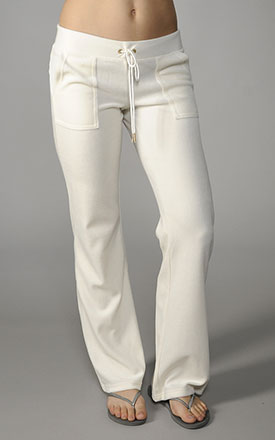 Juicy Couture Velour Bling Bootcut Pant