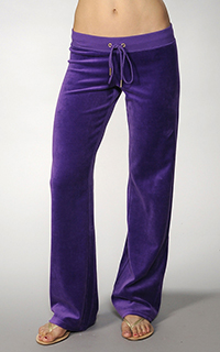 Juicy Couture Velour Bling Original Pant