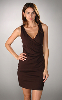 Susana Monaco Supplex Side Wrap Dress