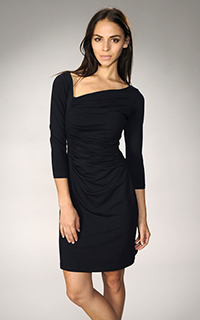 Susana Monaco Side Gather Dress