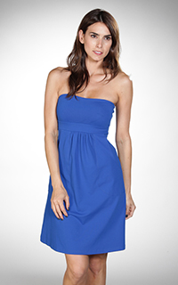 Susana Monaco Pocket Strapless Tube Dress